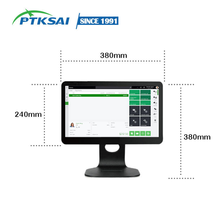 Windows 15.6-Inch Pos Terminal Touch Screen Pos Machine All In One point of sale system