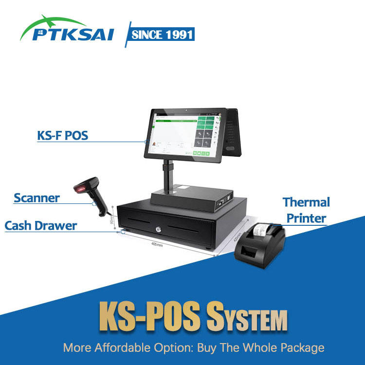 11.6-inch Android Mini Touch Screen POS Machine KS-F for Small Business / Retail / Hotel / Supermarket