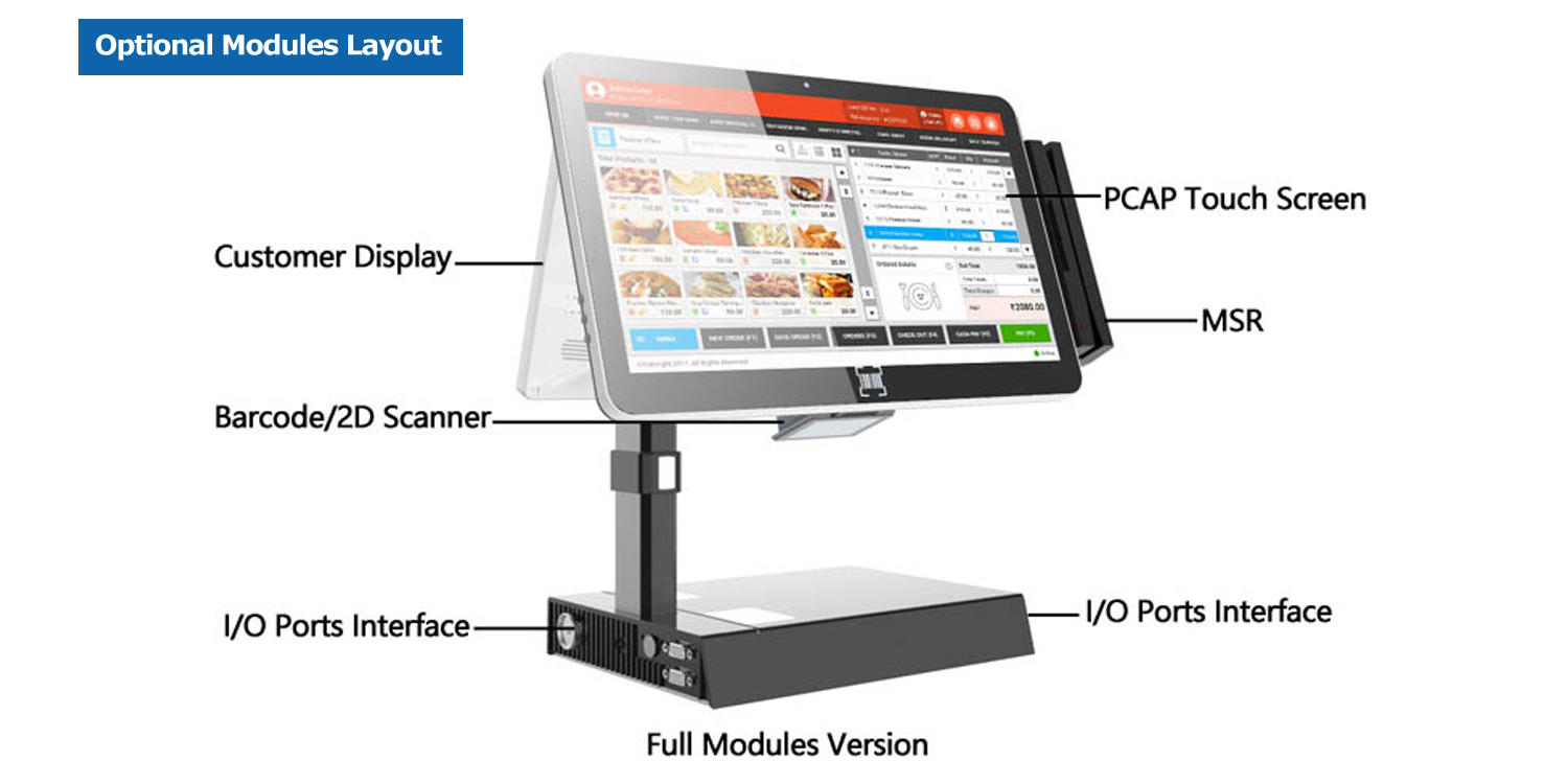 PTKSAI retail pos weighing scale inquire now for promotion-3