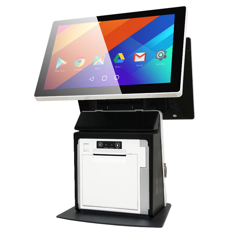 Mini Android All in One POS Machine with Printer KS-BA