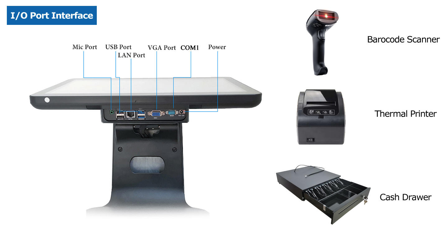 PTKSAI cost-effective handheld pos machine wholesale for promotion