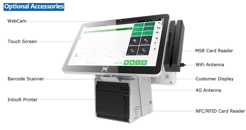 PTKSAI pos system cash register best manufacturer for promotion-6