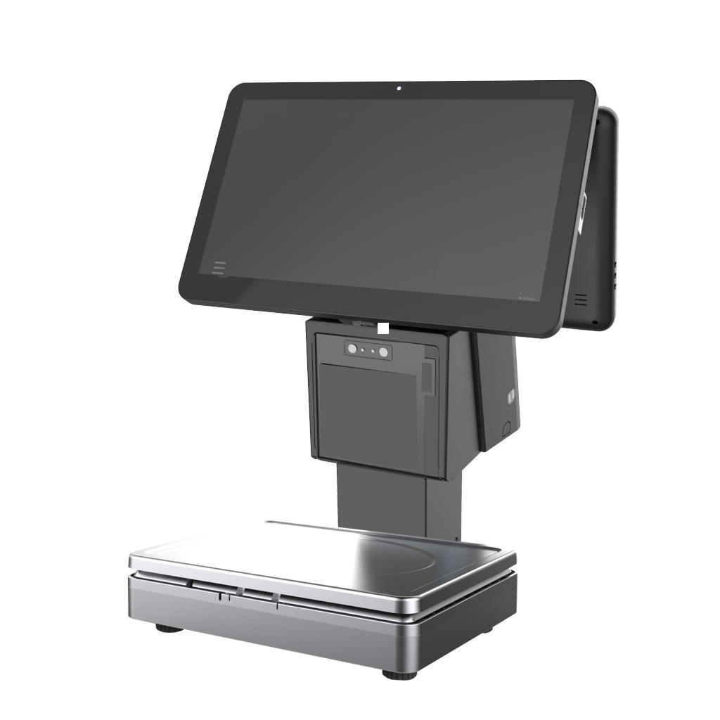 15.6-inch Windows All in One POS Scale with Printer KS-AS