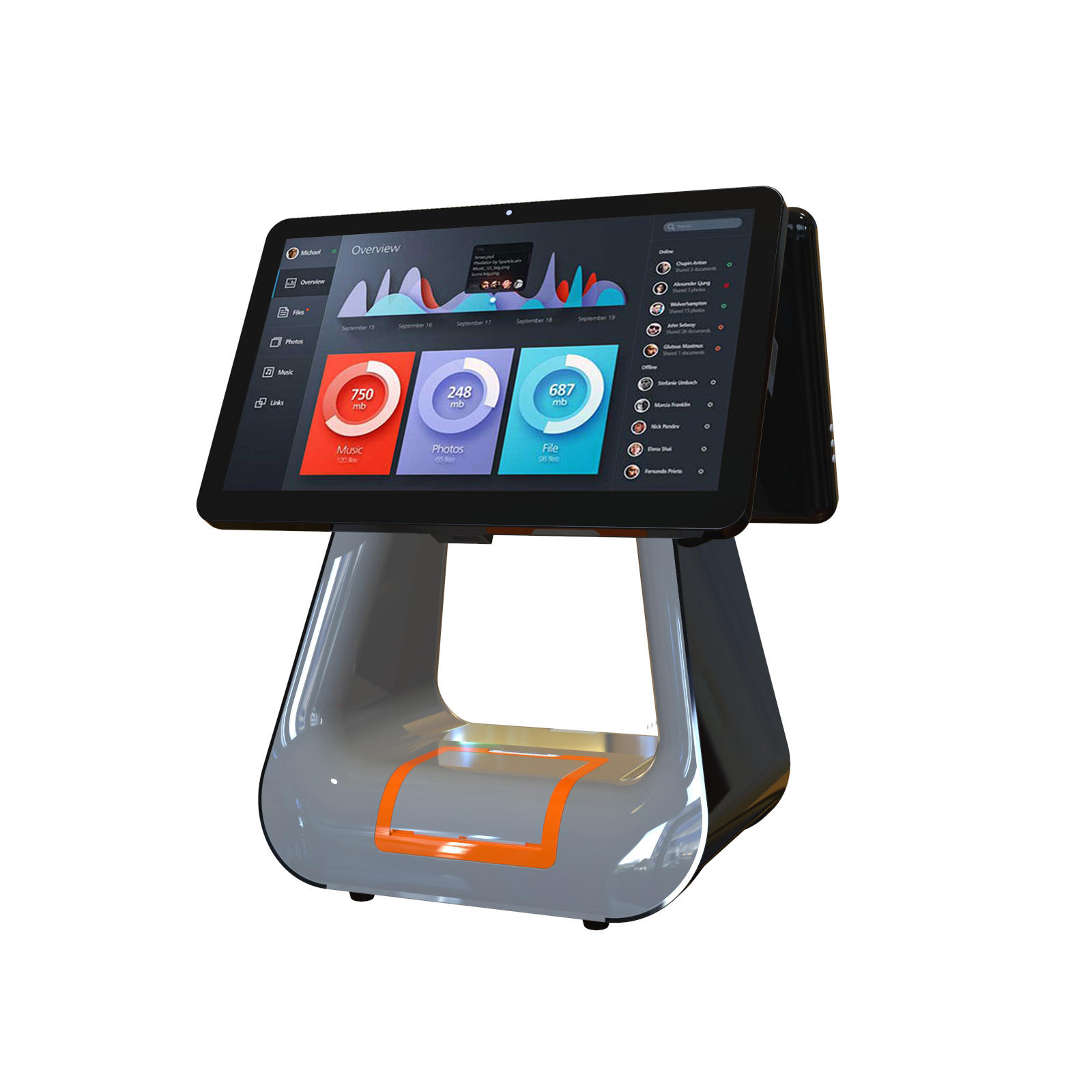 KS-D Black All in One EPOS Terminal