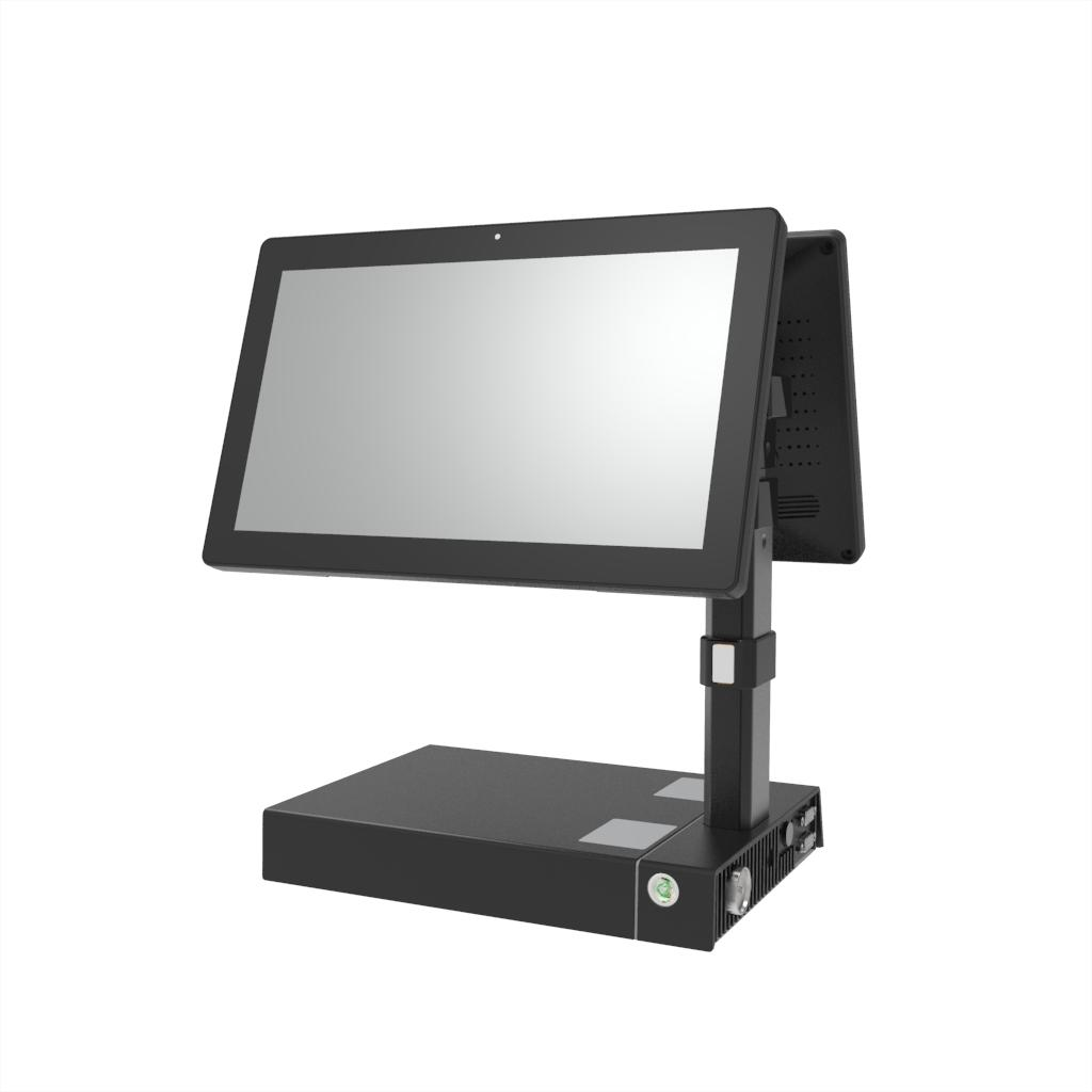 KS-F Dual 11.6-inch Screen Touch POS Terminal