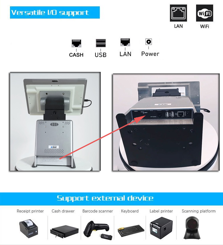 product-PTKSAI-116-inch Android Tablet POS Terminal with Printer-img-3