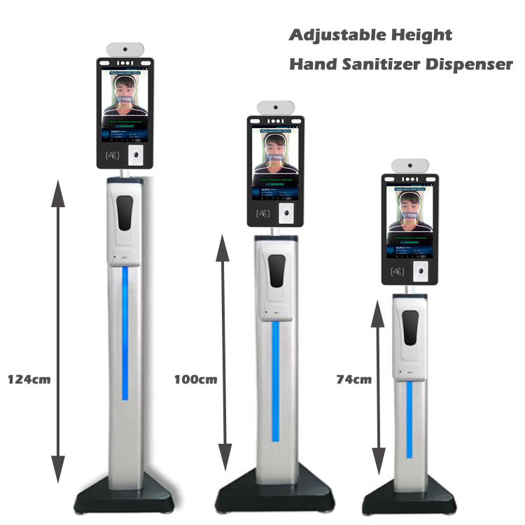 8-inch Facial Recognition Temperature Kiosk
