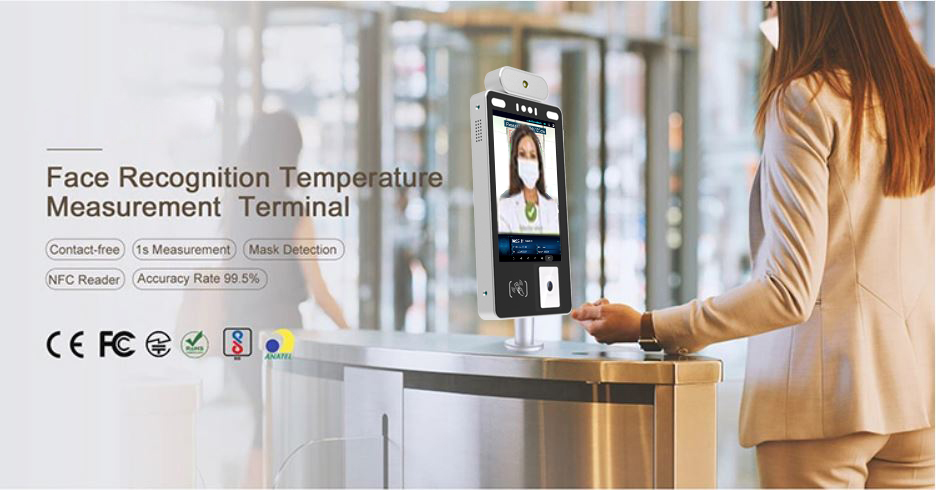 product-8-inch Facial Recognition Temperature Kiosk-PTKSAI-img-3