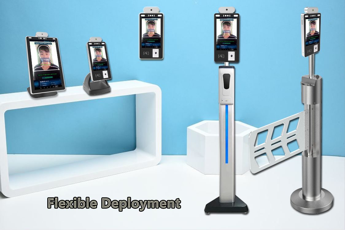 product-PTKSAI-8-inch Facial Recognition Temperature Kiosk-img-3