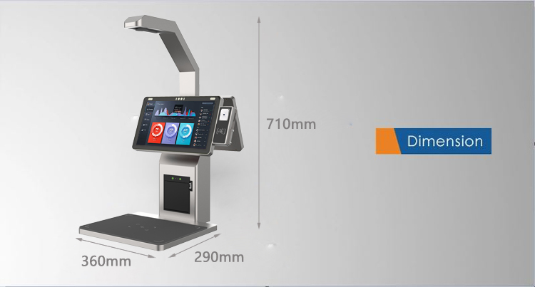 product-133 Inch Object Recognition Food Recognition Smart Cash Register POS Terminal Self Ordering-1