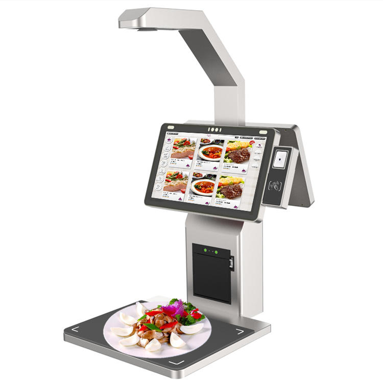 Object Recognition / Food Recognition Smart Cash Register POS Terminal Self Ordering & Payment Kiosk