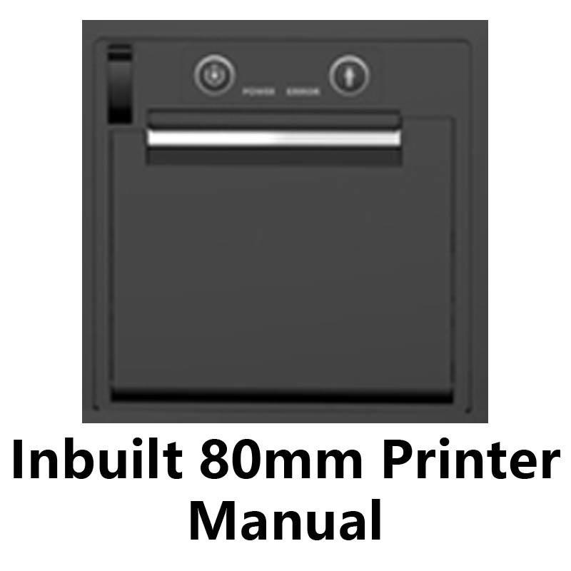 POS Inbuilt 80mm Thermal Printer Manual