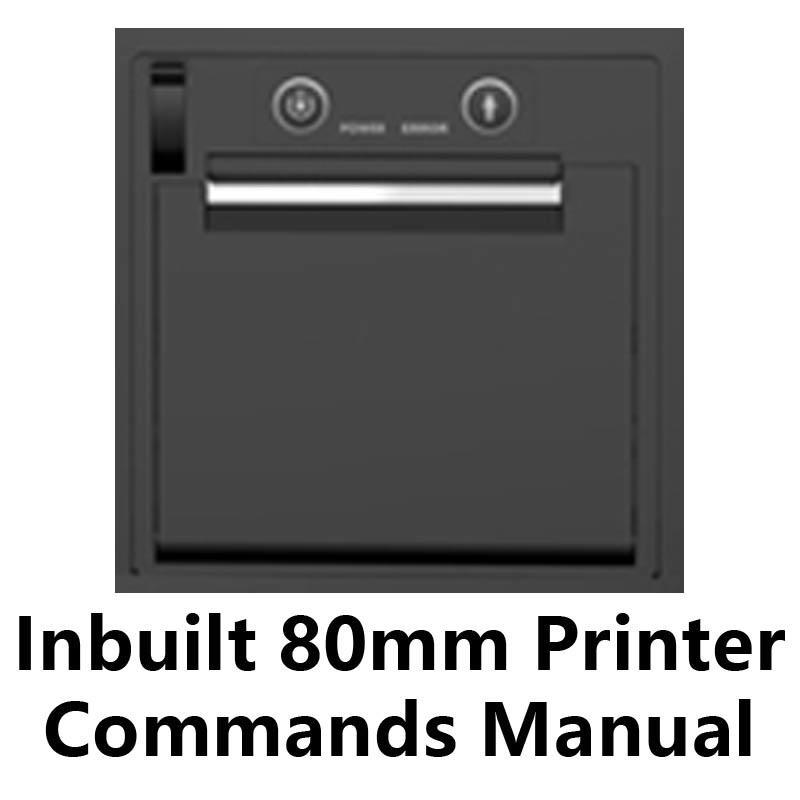 POS Inbuilt 80mm Thermal Printer Commands Manual