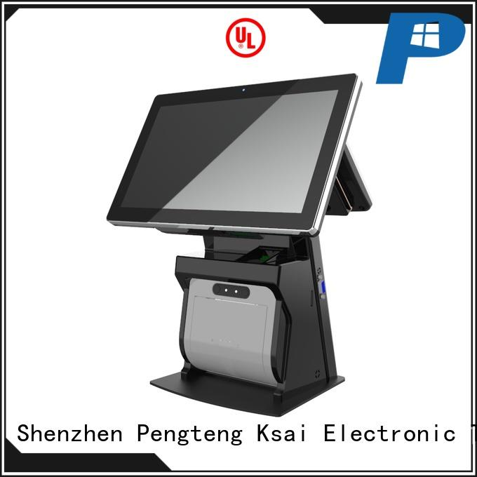 PTKSAI touch screen pos terminal without auto cutter for self service