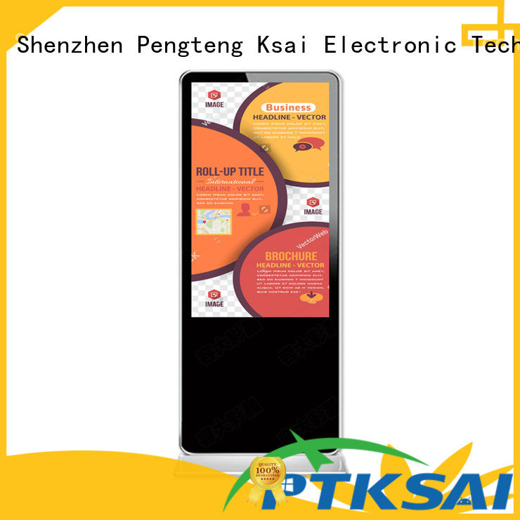 hot-sale office digital signage with led panel for advertising