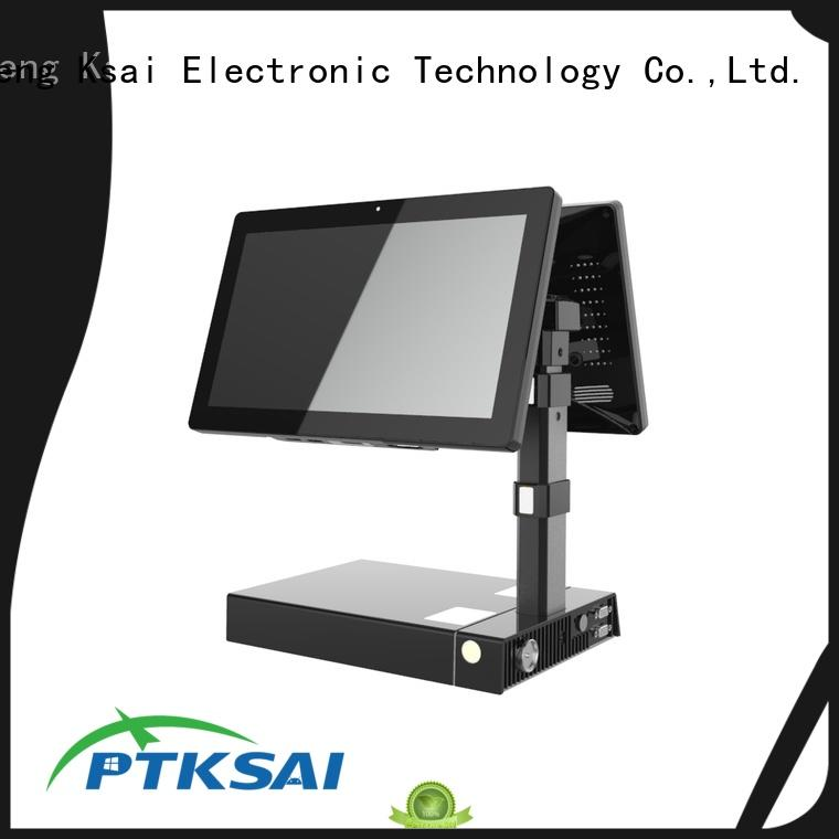 PTKSAI fast mobile pos terminal with printer for restaurants and bars