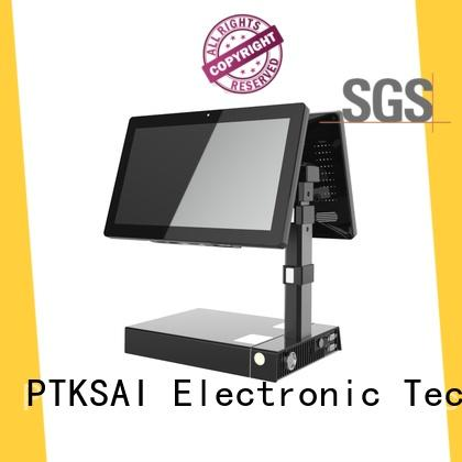 PTKSAI mobile pos devices with printer for restaurants and bars