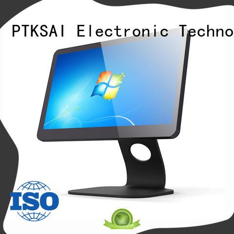PTKSAI pos terminal with thermal printer for self service