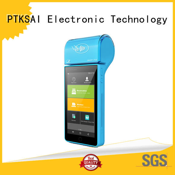latest portable pos system with smart card reader for bar