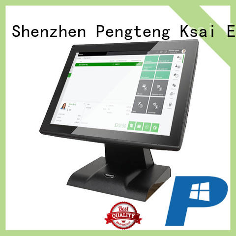 PTKSAI cost-effective touch screen cash register with receipt printer for sale