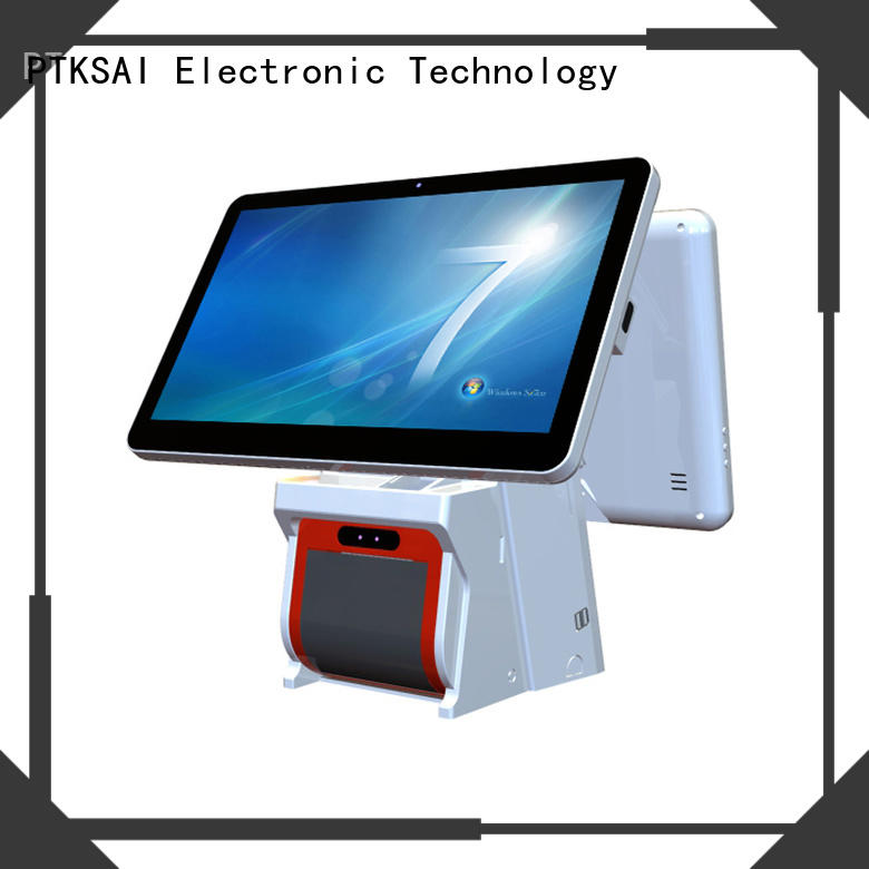 PTKSAI high end pos system cash register with good price bulk production