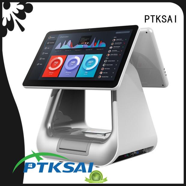 PTKSAI Brand touch retail pos machine register supplier