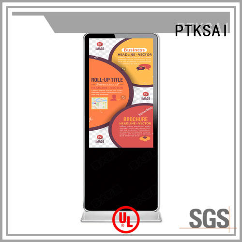 PTKSAI wall mounted digital signage for small business best supplier bulk production