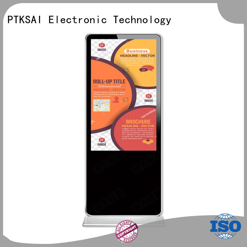display digital vertical interactive indoor digital signage PTKSAI Brand