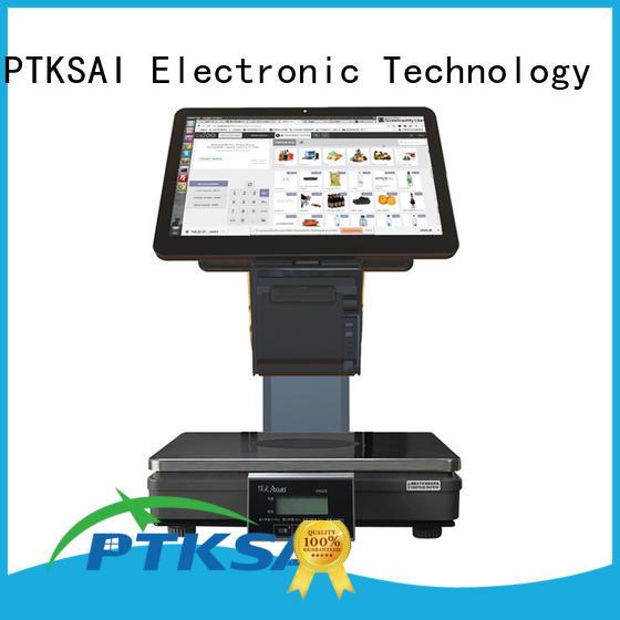 PTKSAI desktop pos cash drawer pos for self service