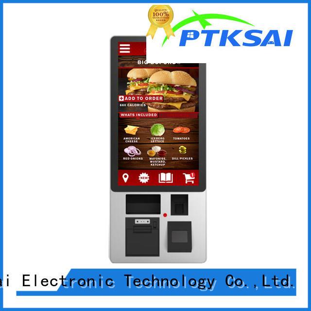 Tax touch self pay kiosks PTKSAI Brand