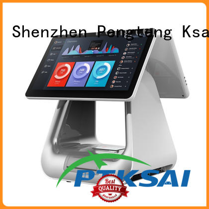 PTKSAI retail pos with thermal printer for restaurants