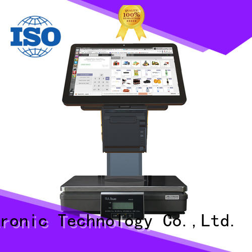 loading pos weighing scale lan for self service