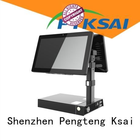 dual mobile point of sale terminal with smart card reader for payment PTKSAI