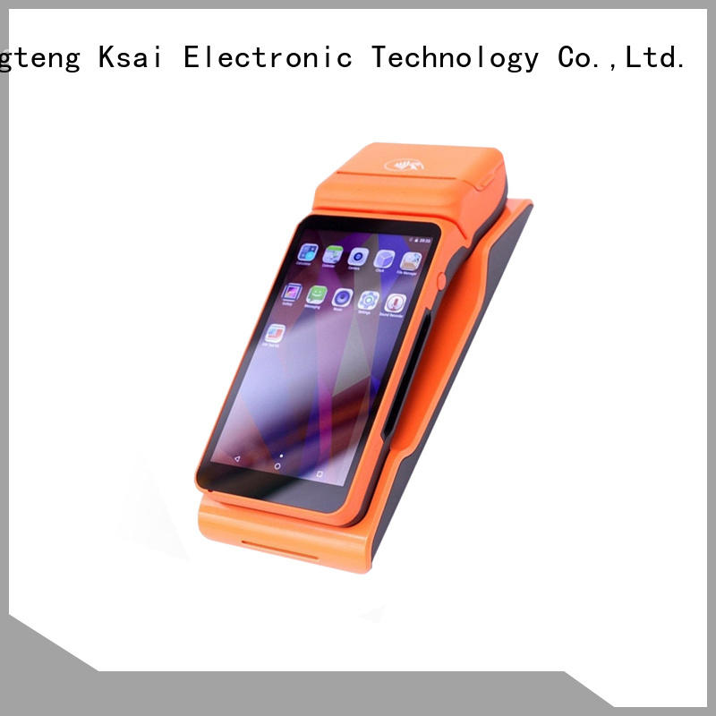 practical mobile pos system with customer display for bar