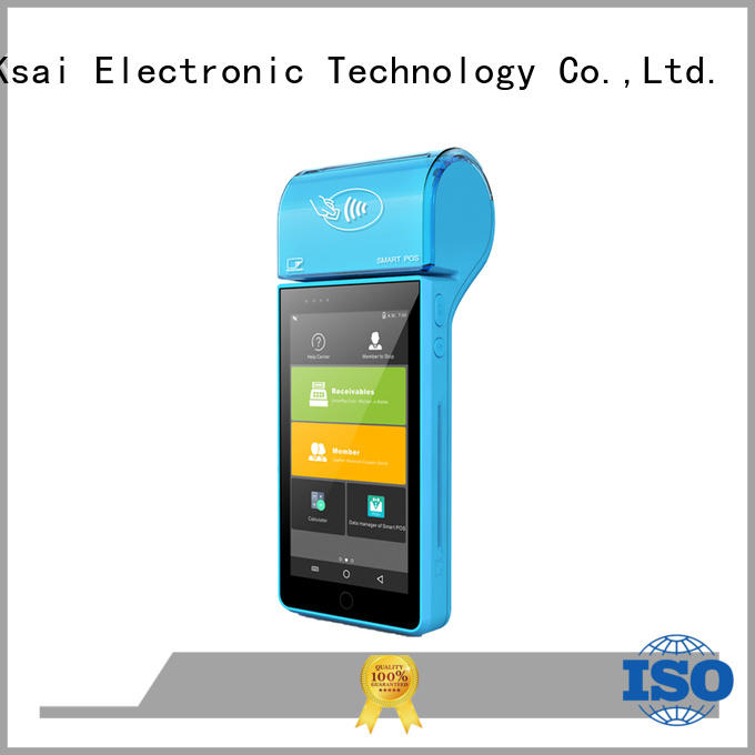mini mobile pos tablet with printer for payment PTKSAI