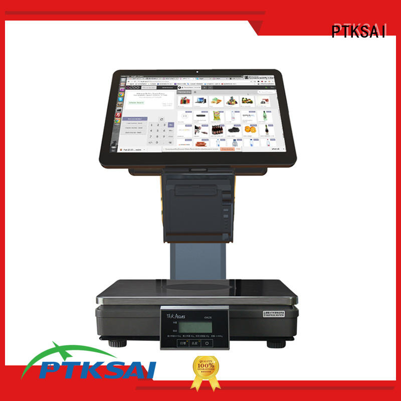 PTKSAI all in one cash register drawer serial for self service