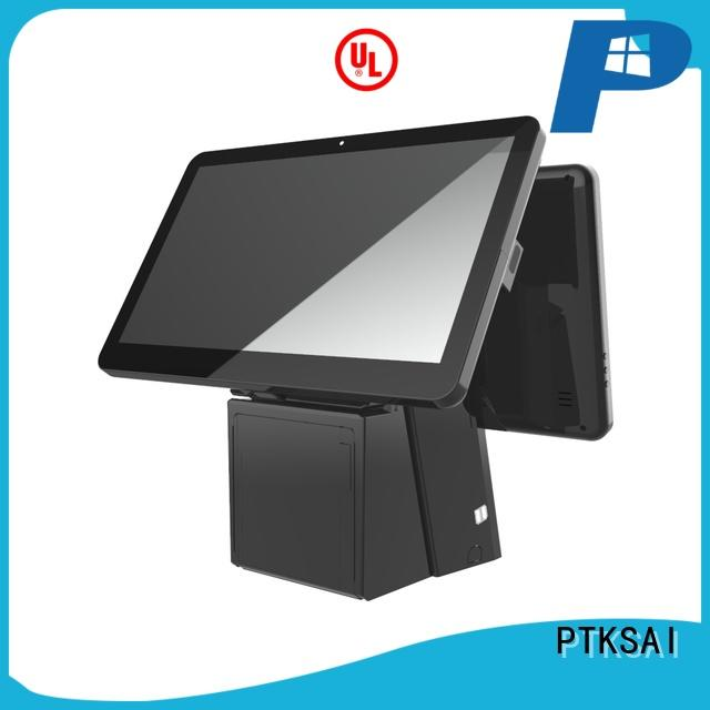 PTKSAI cost-effective pc pos with receipt printer for sale