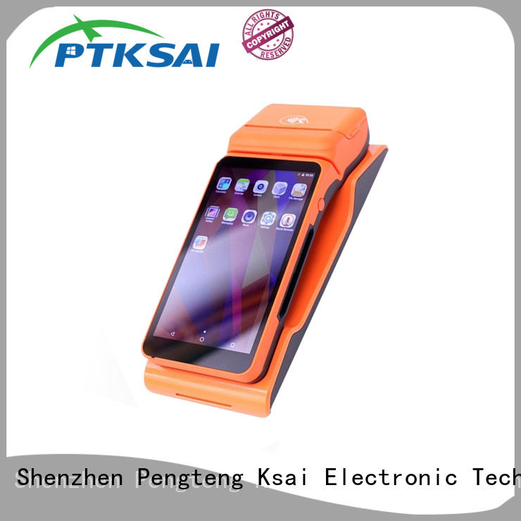 PTKSAI ordering pos devices with printer for restaurants and bars