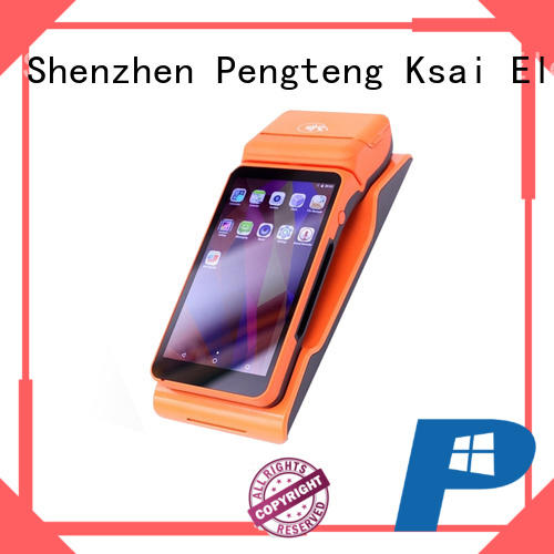 PTKSAI payment portable pos system with smart card reader for payment
