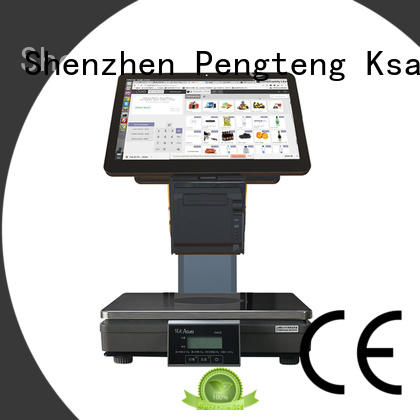 complete pos system scanners supermarket Warranty PTKSAI