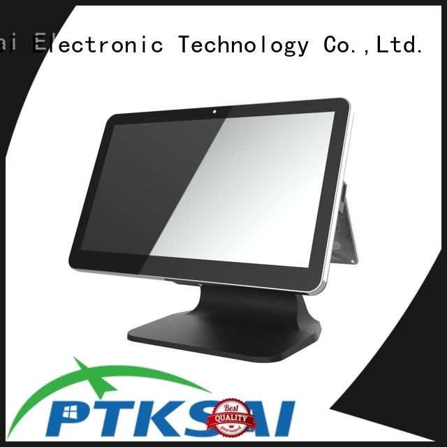 PTKSAI mobile pos terminal with customer display for small business