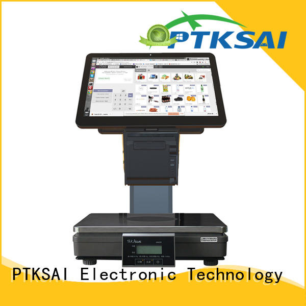 front computer cash register weighing scale for sale