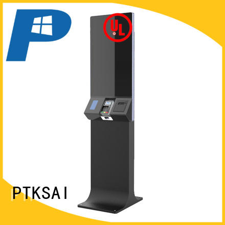 PTKSAI retail kiosk with barcode scanner for sale