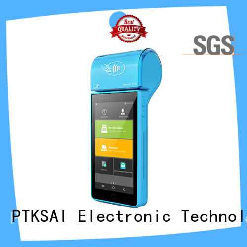 PTKSAI dual mobile point of sale devices with customer display for payment