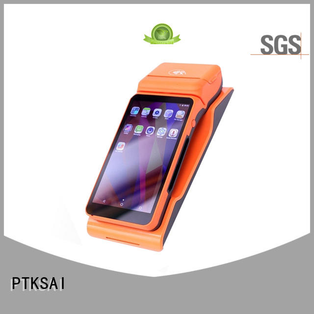 dual portable pos system with printer for restaurants and bars