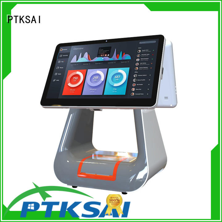 system register touch all in one pos mini PTKSAI