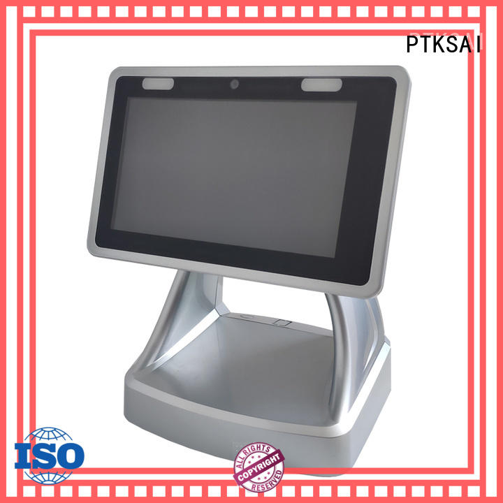PTKSAI mini mobile pos android with printer for payment