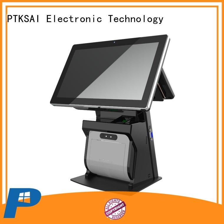 epos system cheap pos machine with receipt printer for payment PTKSAI