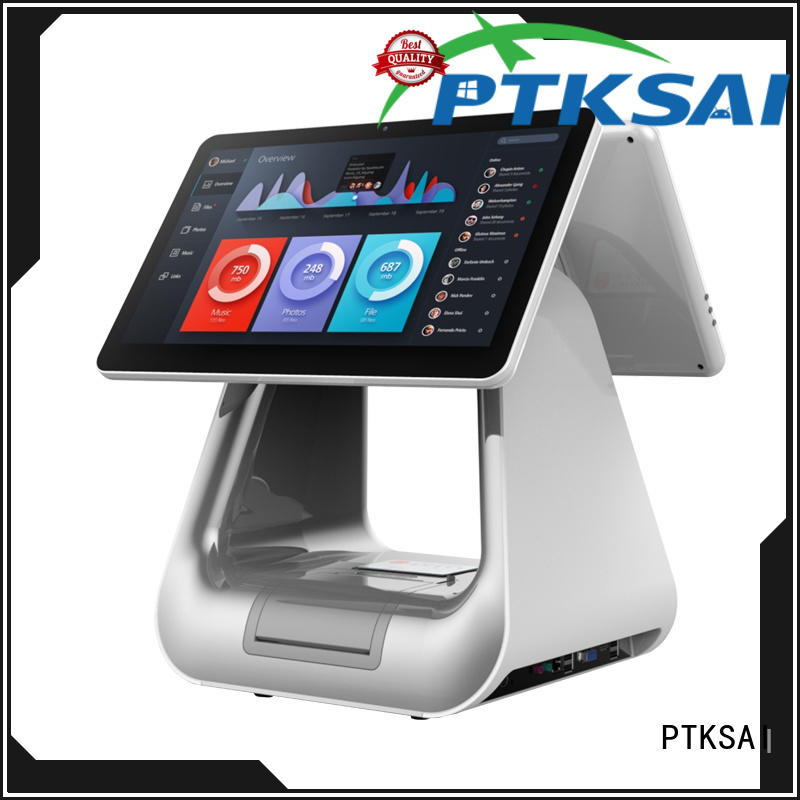 PTKSAI fashion pos all in one touchscreen computer supply for promotion