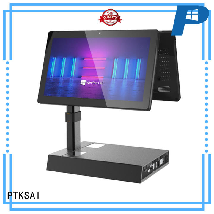 PTKSAI mobile point of sale devices with printer for payment